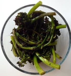 brocolini cooked