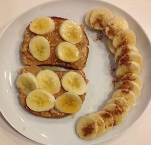 pbutternbanan bread breakfast